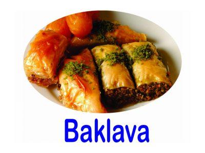 Baklava Burnaby BC Mr Greek Donair Shop Burnaby Donair