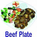 Beef Plate Burnaby BC Mr Greek Donair Store