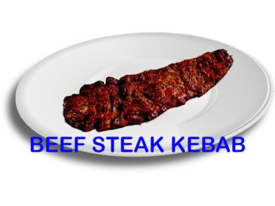 Beef Steak Kebab Skewer Burnaby BC Mr Greek Donair near Burnaby BC