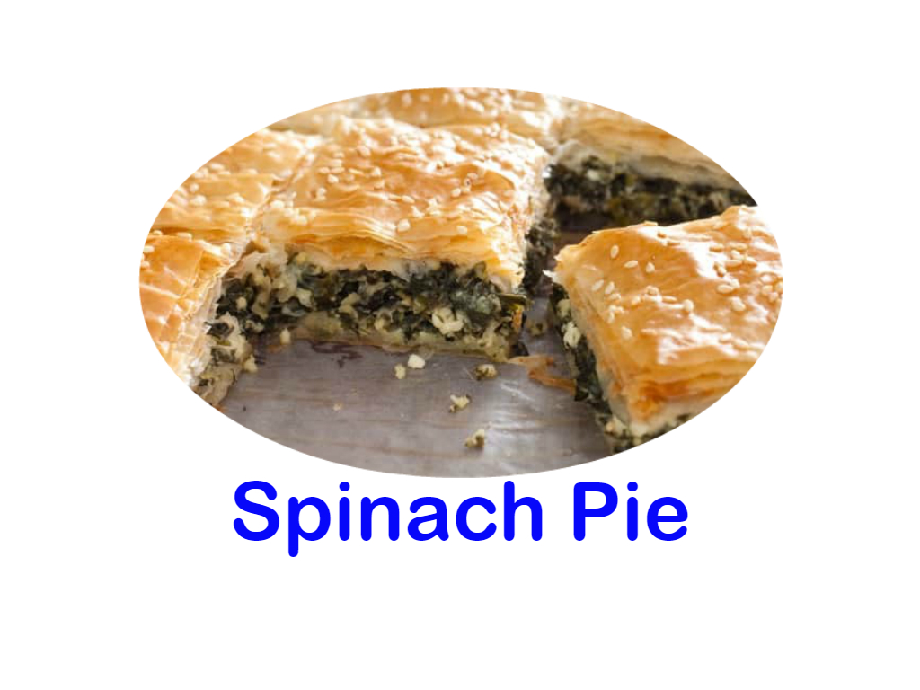 Spinach Pie Burnaby Donair Mr Greek Donair Shop