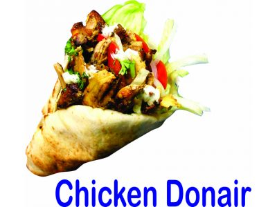 Chicken Donair Burnaby BC Mr Greek Donair Shop