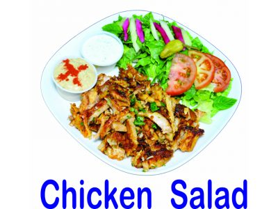 Chicken Salad Plate Burnaby BC Mr Greek Donair Shop