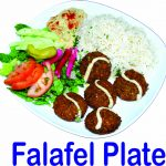 Falafel Plate Burnaby BC Mr Greek Donair Shop