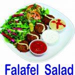 Falafel Salad Burnaby BC Mr Greek Donair Shop