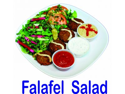 Falafel Salad Burnaby BC Mr Greek Donair Shop