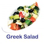 Greek Salad Burnaby BC Mr Greek Donair Shop