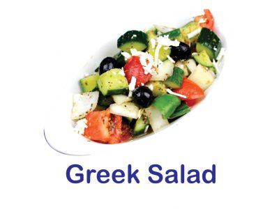 Greek Salad Burnaby BC Mr Greek Donair Shop