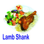 Lamb Shank 1pc Burnaby BC Mr Greek Donair Shop