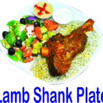 Lamb Shank Plate Burnaby BC Mr Greek Donair Shop