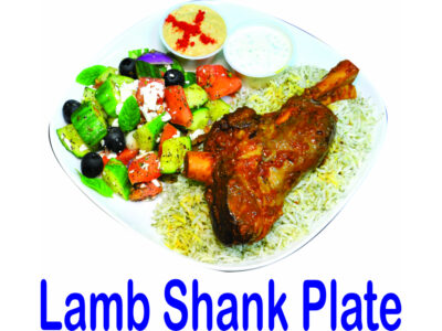 Lamb Shank Plate Burnaby BC Mr Greek Donair Shop