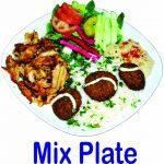 Mix Plate Burnaby BC Mr Greek Donair Shop Burnaby