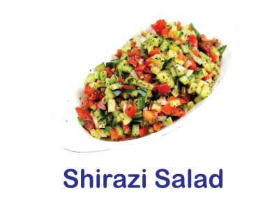 Shirazi Salad Burnaby BC Mr Greek Donair Shop
