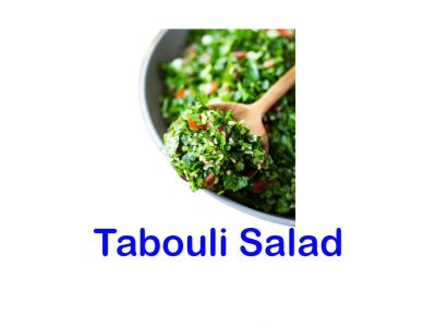Tabouli Salad Mr Greek Donair burnaby BC